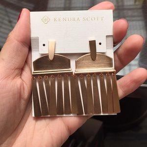 NWT Kendra Scott Golden Tassels Earrings